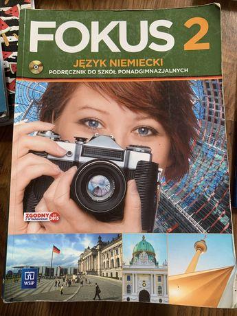 Podręcznik książka ćwiczenka fokus 2 jezyk niemiecki