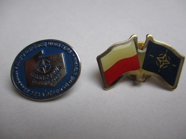 znaczki pamiątkowe ze spotkania Ministrów Obrony NATO Warszawa 2002