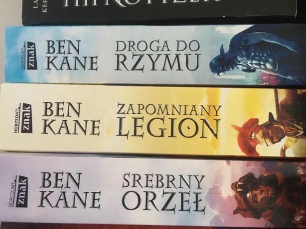 Ben Kane Trylogia Rzymska SERIA 3 sztuki