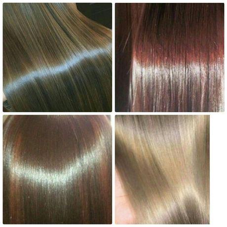 Ботокс для волос, кератиновое восстановление, выпрямление