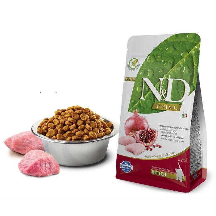 Farmina N&D Kitten (Grain Free) - Frango e Romã Alfragide - imagem 1