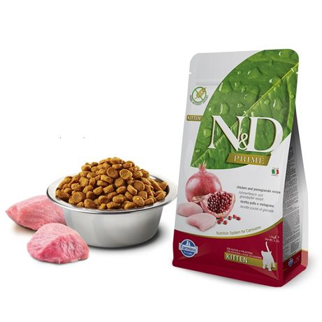 Farmina N&D Kitten (Grain Free) - Frango e Romã