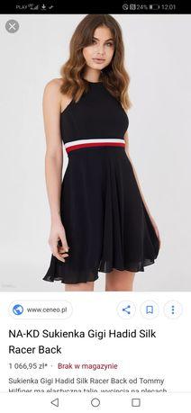 Sprzedam sukienkę Gigi Hadid Tommy Hilfiger
