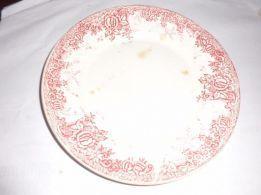 para antiquários vendo prato da Massarelos fabricado entre 1901 e 1912
