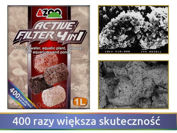 Azoo Active filter 1L (wkłady)