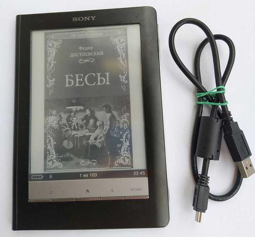 Електронна книга Sony PRS600 Black 6дюймів E Ink VizPlex touch