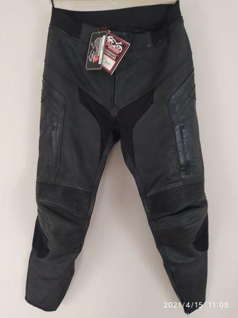 Spodnie motocyklowe MODEKA skóra