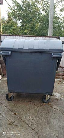 Контейнер для мусора 1.1м3 Евроконтейнер для ТБО Мусорный бак б/у