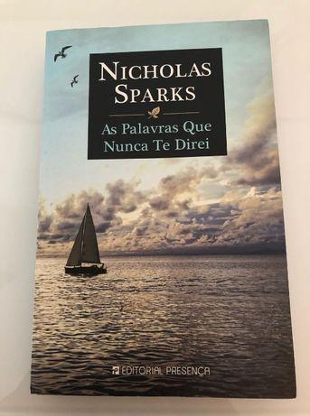 As Palavras Que Nunca Te Direi de Nicholas Sparks
