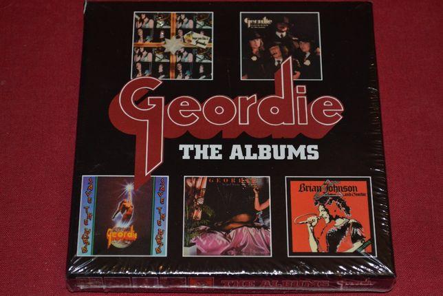 """Geordie """"The Albums"""" 5CD BoxSet, Delux Edition, Запечатанный."""