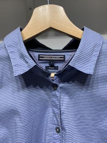 Niebieska koszula Tommy Hilfiger - oryginał