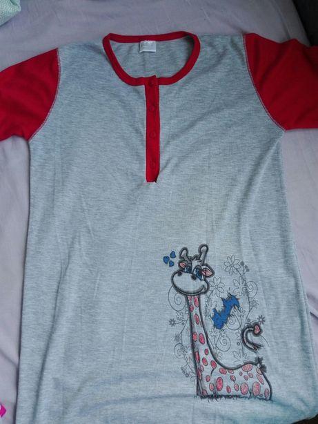 Bawełniana koszula do karmienia nocna r 38 M