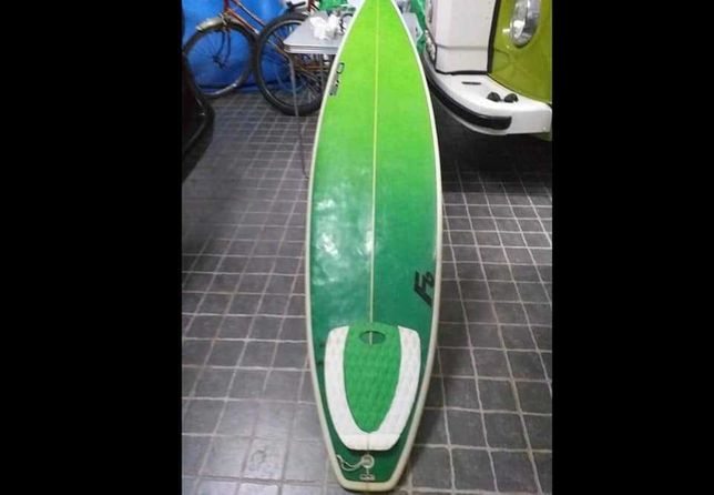 6.8 Evolution Funboard Malibu Prancha de surf deck fins FCS NSP Torq