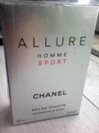 Chanel Allure Home Sport туалетная вода 100ml б/у как новая, в целофан