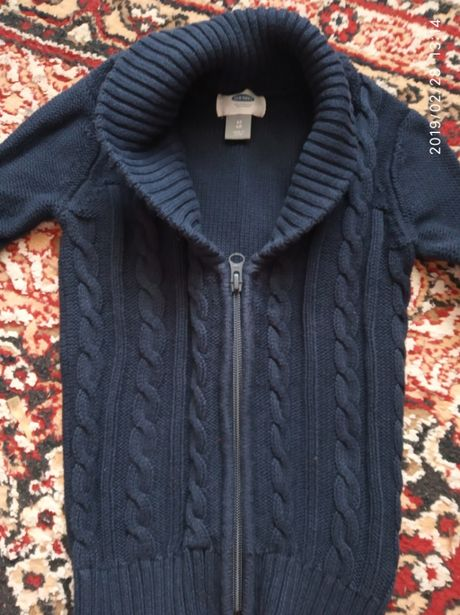 Кофта пиджак свитер реглан кардиган 4 роки года old navy піджак світер