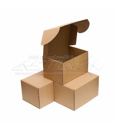 Картонные коробки самосборные  310*220*190
