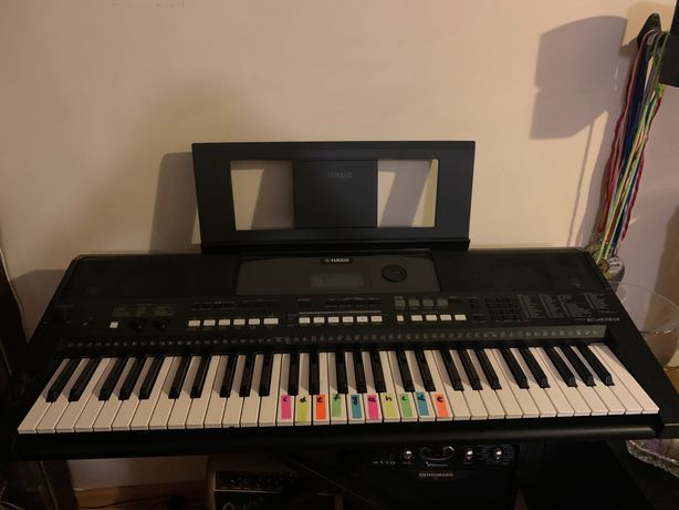 Keyboard Yamaha PSR E433 plus stojak