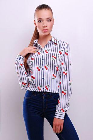 СТИЛЬНАЯ женская БЛУЗА НОВАЯ, модная рубашка, блузка офисная