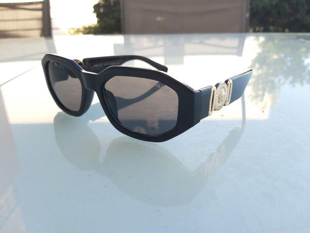 Óculos de sol Medusa Versace Vintage Gold frames 2021 novos