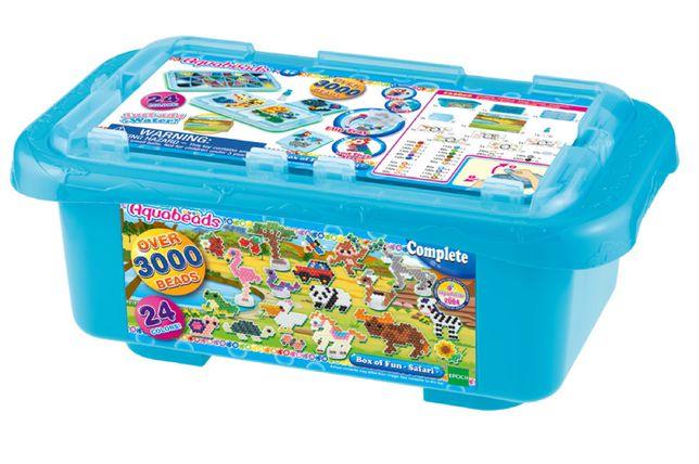 Aquabeads Box Zestaw Safari - 3000 koralików 32808