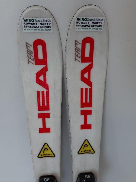 narty dziecięce HEAD team supershape /97cm
