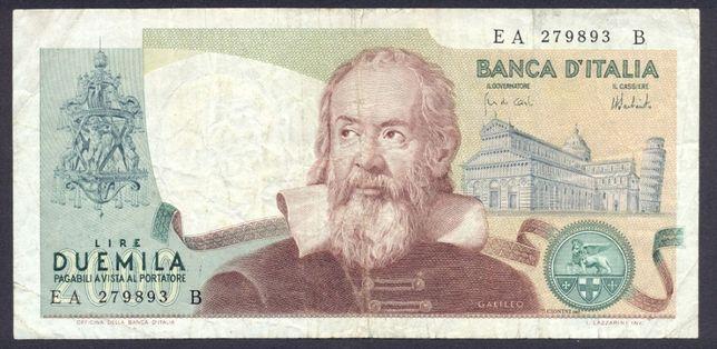 Bankont Włochy 2000 Lir z 1973 r rzadki
