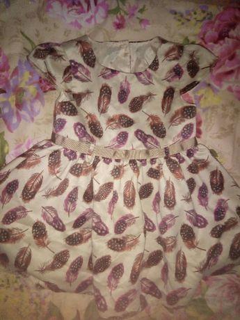 Нарядное праздничное платье на малышку BabyK на годик-полтора