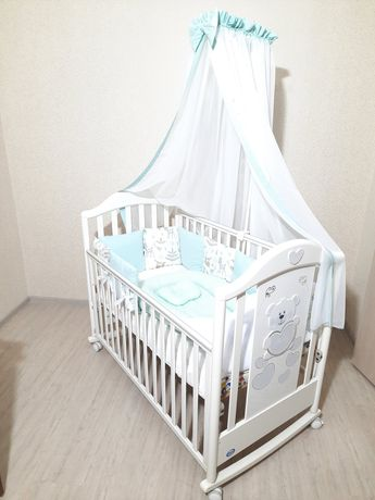 Цена за всё!Итальянская детская кроватка Pali,кровать люлька качалка