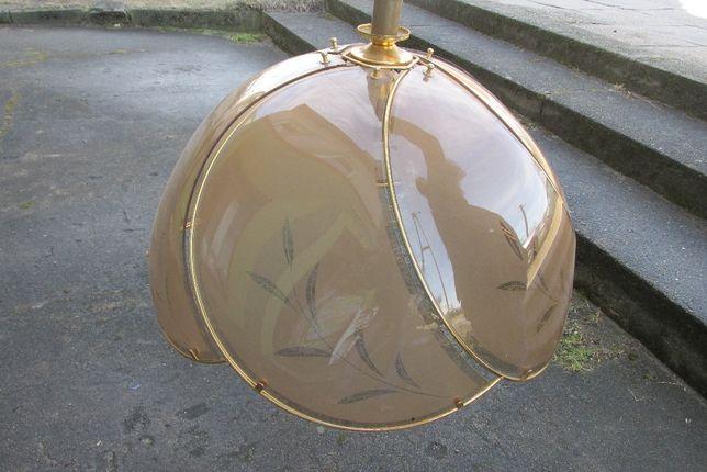 Żyrandol lampa metal szkiełka regulowana wysokość kuchenny WYSYŁKA