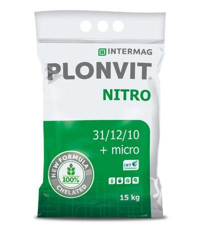 PLONVIT NITRO 31-12-10 nawóz dolistny azotowy 15kg Intermag