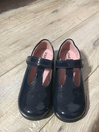 Новые кожаные туфельки 17 см