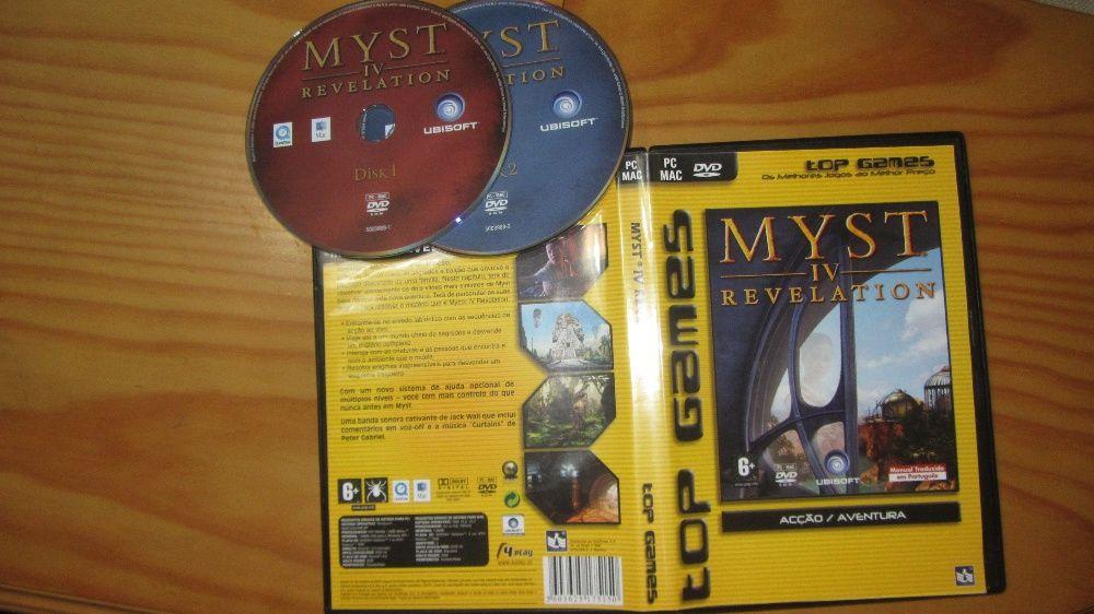 Pc-DVD| Myst IV- Revelation Pombal - imagem 1