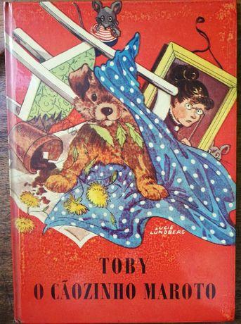 toby o cãozinho maroto, gonçalo w. de vasconcelos, livro infantil