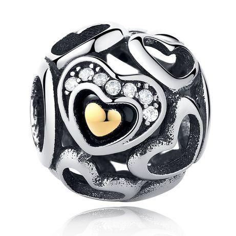 Zawieszka charms Serce do Pandora srebro 925 AN2002 Ponad 100 wzorów