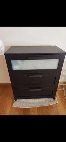 Comoda preta IKEA