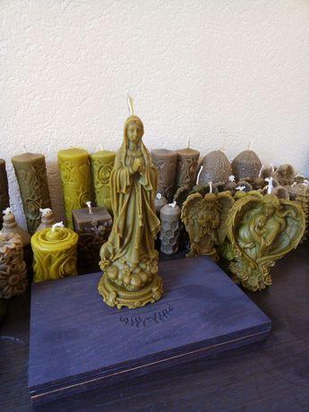 """свечи восковые, свеча """"Святая дева Мария"""", свічки воскові"""