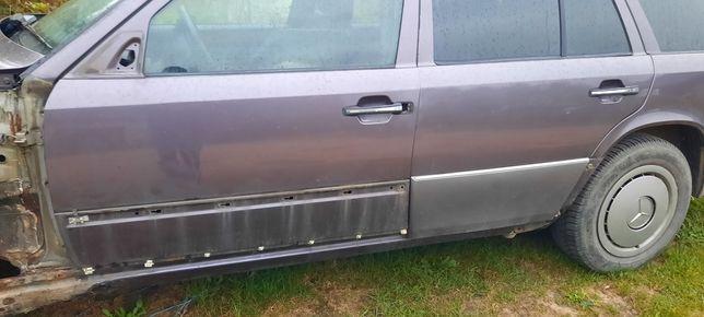 Drzwi mercedes w124 szeroka listwa