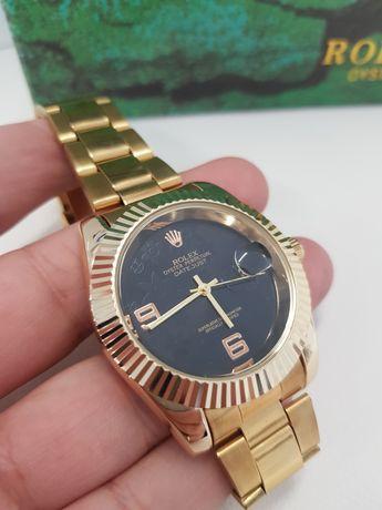 Zegarek męski Rolex Datejust złoto czarny  Limited Edition  super