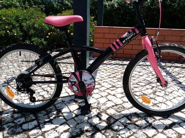 Bicicleta Btwin roda 20 como nova