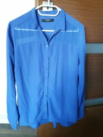 Bluzka niebieska, chabrowa, Reserved 36 S