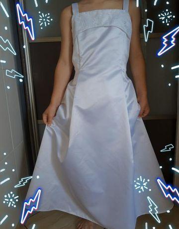 Нарядное платье костюм Принцесса/зима/снежинка/ фея на 7-8 лет