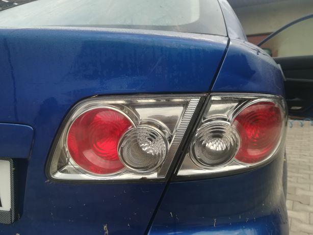 Mazda 6 hatchback lampy tył poliftowe