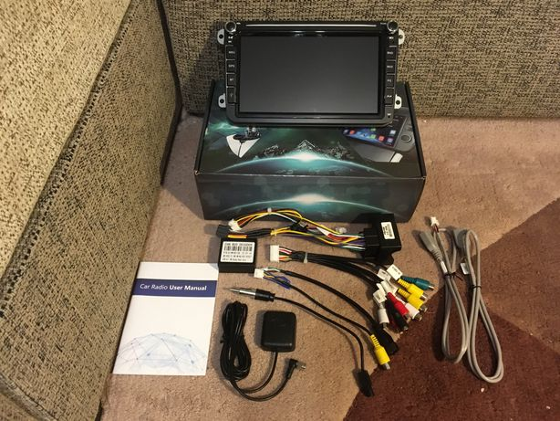 Андроид NEW 7 8 9 10 дюймов VW Skoda 2/16gb 2/32gb Ips Android GPS