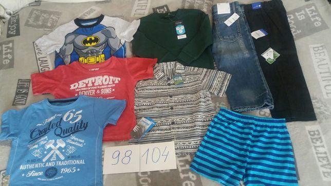 Rebel Gap George Matalan nowe ubranka dla chłopca zestaw 98-104 cm