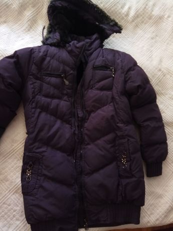 kurtka zimowa dziewczęca rozm. 158 cm