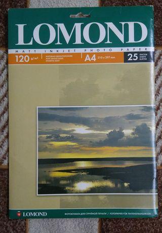 Фотобумага матовая 120 г/м2 - 12 листов