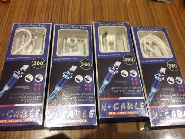 Sprzedam kable magnetyczne 3w1