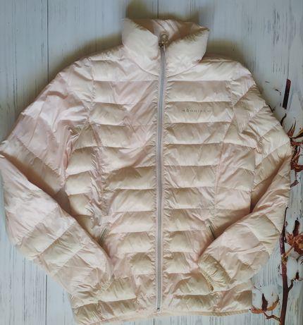 Женский розовый  пуховик куртка  пух Rohnisch