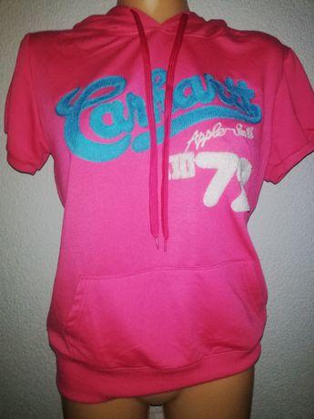 Bluzka koszula różowa koszulka