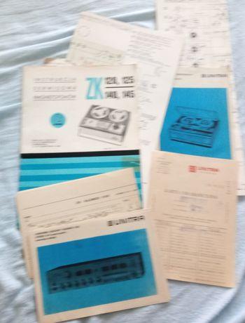 Serwisówki, schematy, instrukcje, Diora, Unitra, i inne